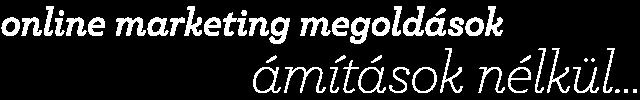 e-vendor • online marketing megoldások ámítások nélkül